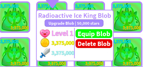 Radioaktive Ice King Blob (Blob Simulator 2)