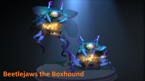 Beetlejaws the Boxhound (Immortal Courier)