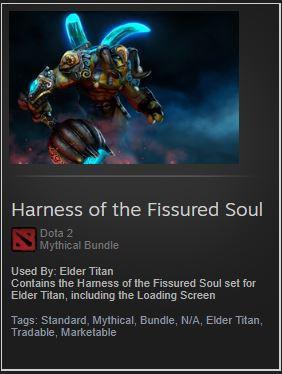 Harness of the Fissured Soul (Elder Titan Bundle)