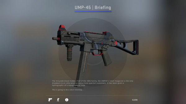 UMP-45 | Briefing(Mil-Spec Grade SMG)