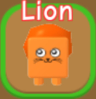 RPG World Overpowered Pet Lion (Baca Deskripsi)