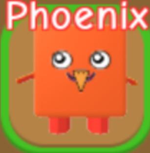 RPG World Overpowered Pet Phoenix (Baca Deskripsi)
