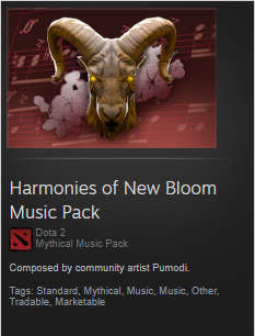 Harmonies of New Bloom Music Pack