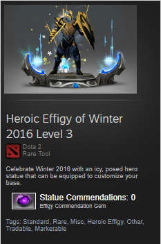 Heroic Effigy of Winter 2016 Level 3