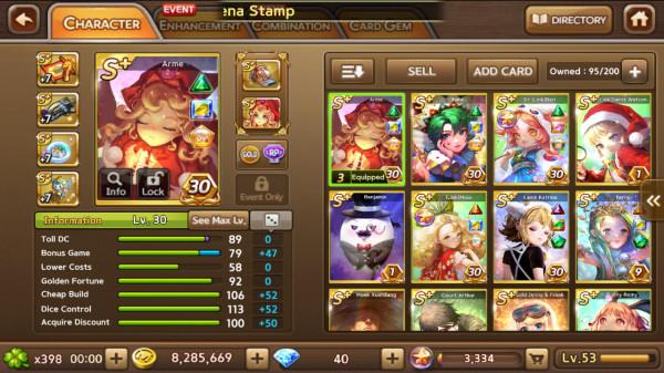 Arme + Fate + Bari + Terra + Maia + Nirvana dkk