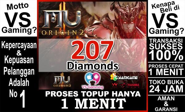 207 Diamonds