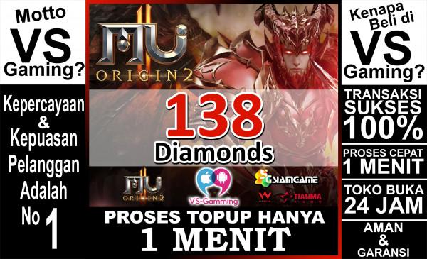 138 Diamonds