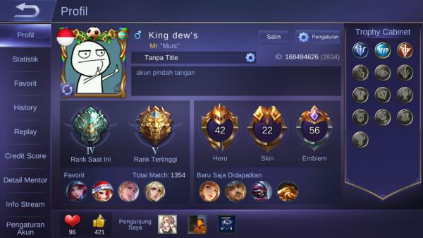 Edisi pensi skin star 2 emblem gg
