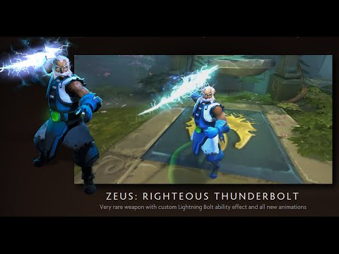 Inscribed Righteous Thunderbolt (Immortal Zeus)
