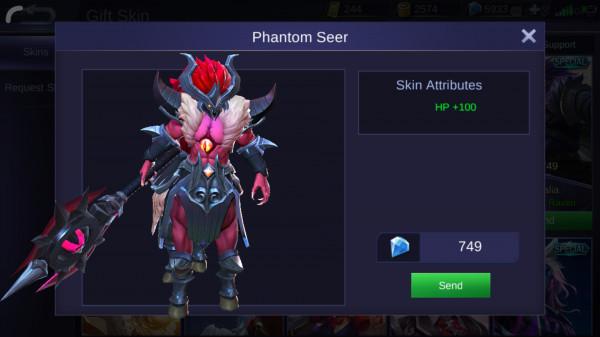 Phantom Seer (Special Skin Hylos)