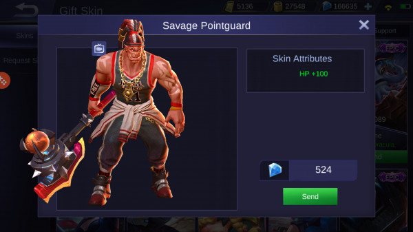 Savage Pointguard (Special Skin Balmond)