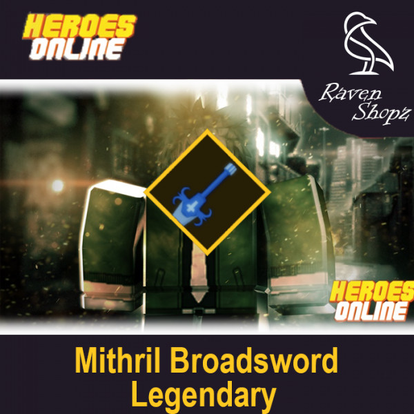 Mithril Broadsword | Heroes Online