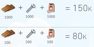 Paket Upgrade Silo 500 SET