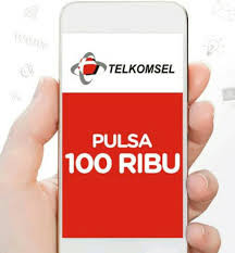 pulsa telkomsel 100000 100rb 100k