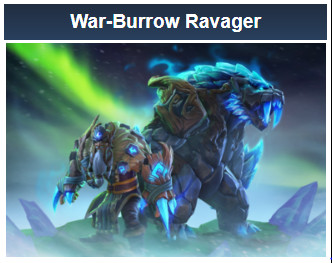 War-Burrow Ravager (Lone Druid Set)