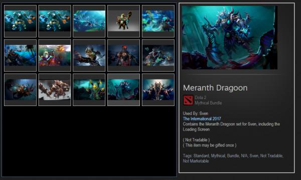 Meranth Dragoon (Sven Set)