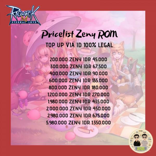 2.000.000 Zeny
