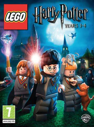 LEGO HARRY POTTER YEAR:1-4