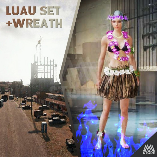 READY Luau Set + Wreath PERMANENT