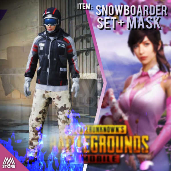 READY Snowboarder Set + Mask PERMANENT