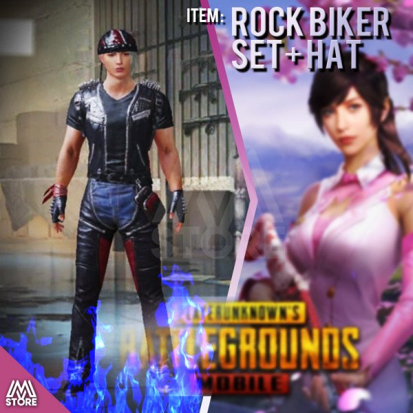 READY Rock Biker Set + Hat PERMANENT