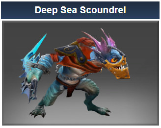 Deep Sea Scoundrel  (Slark Set)