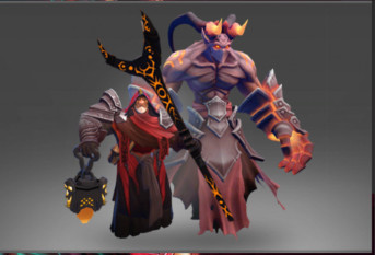 Tools of the Hellsworn (Warlock Set)
