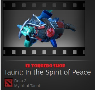 Taunt: In the Spirit of Peace (Storm Spirit Taunt)