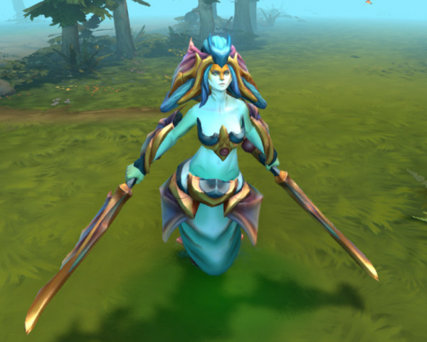 Prismatic Grace (Naga Siren Set)
