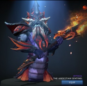 The Andestian Sentinel (Slardar Set)