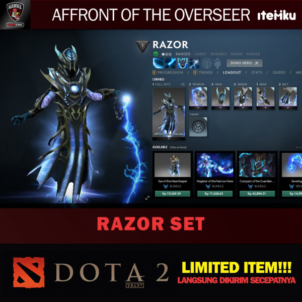 Affront of the Overseer (Razor Set)