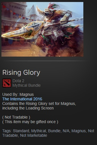 Rising Glory (Magnus Set)