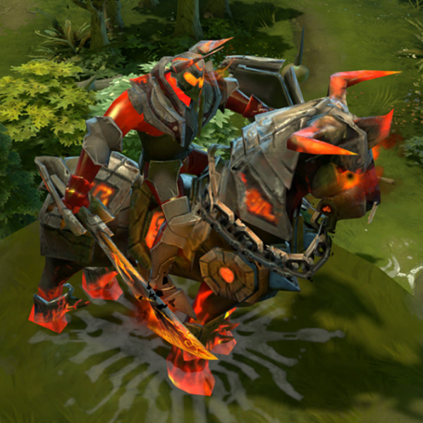 Arms of Burning Turmoil (Chaos Knight Set)
