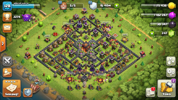 COC TH10 SEMI FULL UP