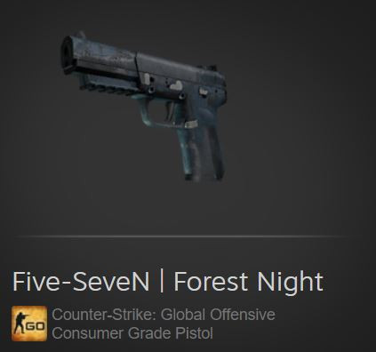 Five-SeveN | Forest Night (Consumer Grade Pistol)