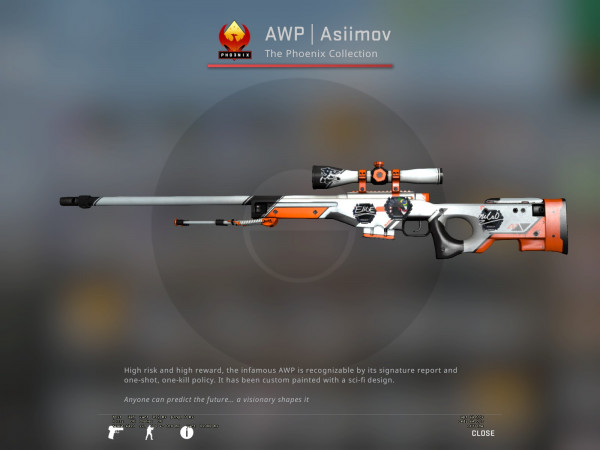 AWP | Asiimov (Covert Sniper Rifle)