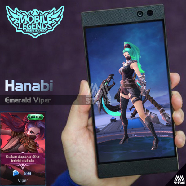 Colored Skin Hanabi (Emerald Viper)