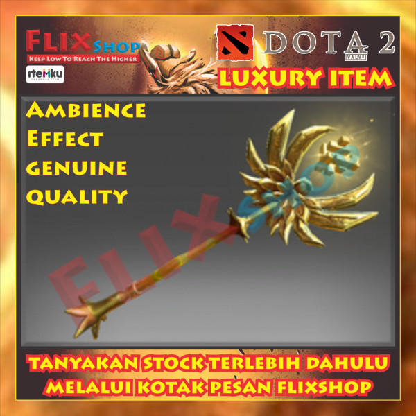 Golden Staff of Perplex (Immortal Rubick)