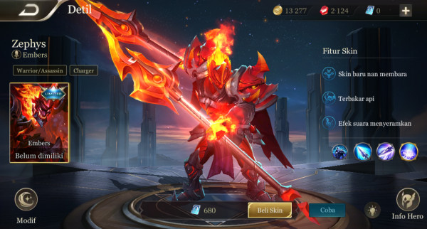 Embers (limited skin zephys)