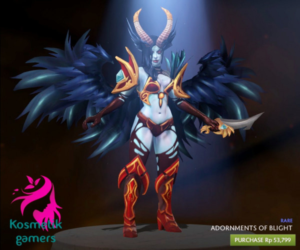 Adornments of Blight (Queen of Pain Set)