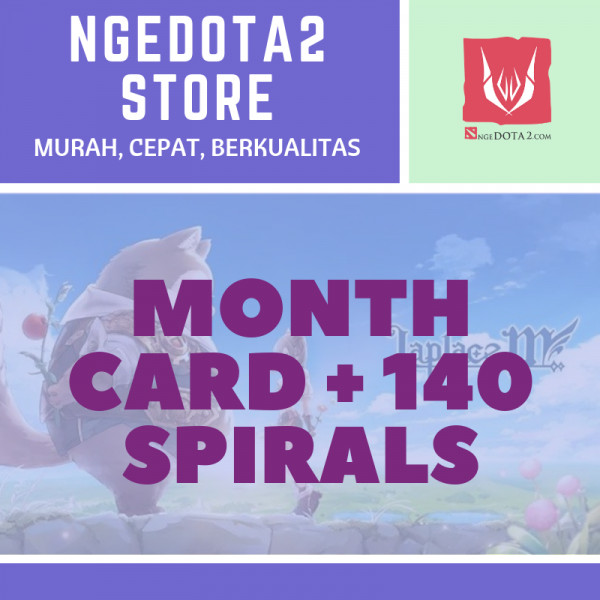 Month Card + 140 Spirals