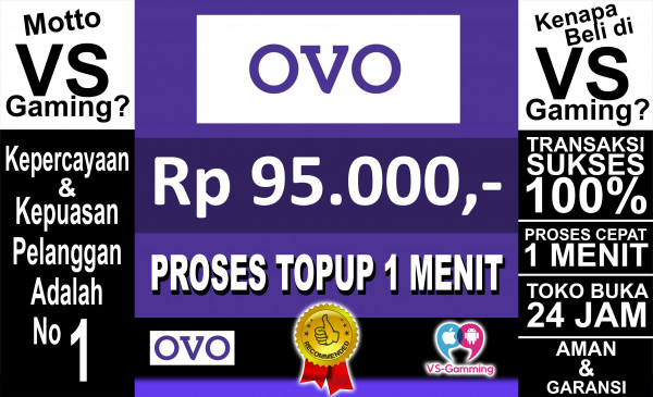 Top-up OVO 95.000