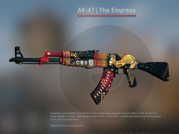 AK-47 | The Empress (Covert Rifle)