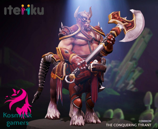 The Conquering Tyrant (Centaur Warrunner Set)