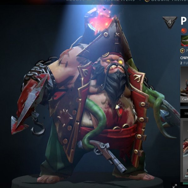 Jolly Reaver (Collector Cache TI7 - Pudge)