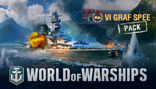 World of Warships - Admiral Graf Spee Pack Code