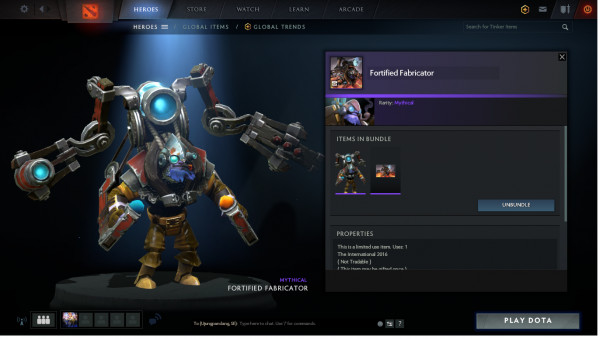 Fortified Fabricator (Set Tinker TI6)
