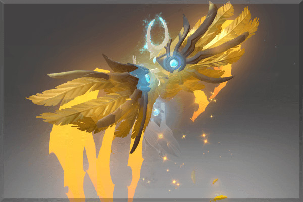 Golden Flight of Epiphany (Immortal Skywrath Mage)