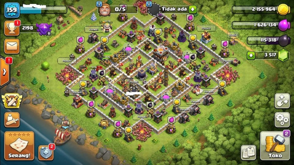 COC TH 11 MANTAP