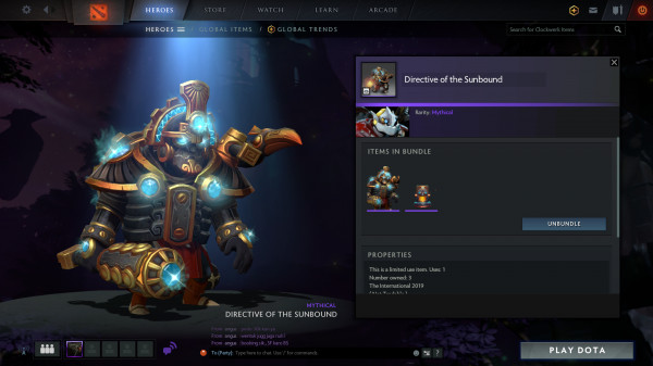 Directive of the Sunbound (Clockwerk Set)